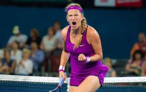 Уверенная победа Виктории Азаренко над Марией Саккари в полуфинале турнира в Остраве (видео)