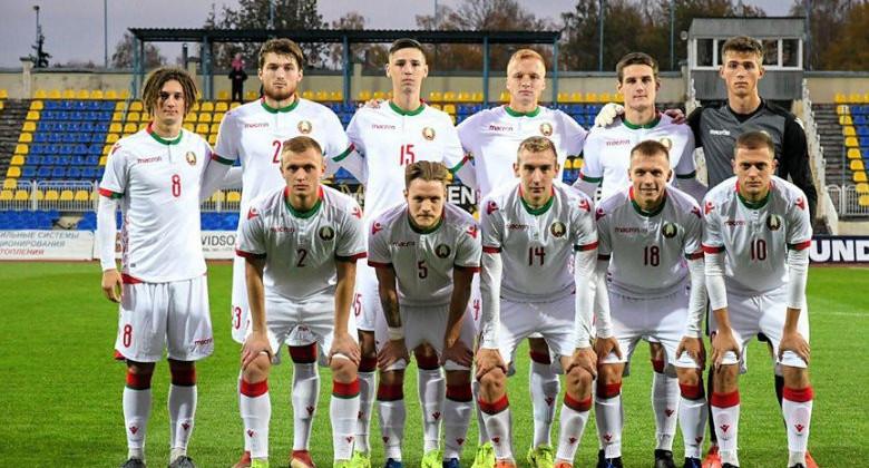 Молодежная сборная Беларуси уступила Кипру в квалификации чемпионата Европы-2021