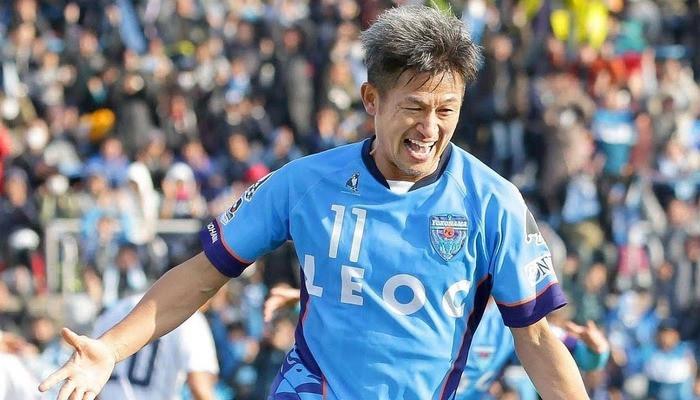 Японец Миура сыграл в высшем дивизионе своей страны в возрасте 53 лет и 210 дней