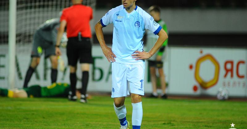 Алексей Риос переведён в дубль минского Динамо