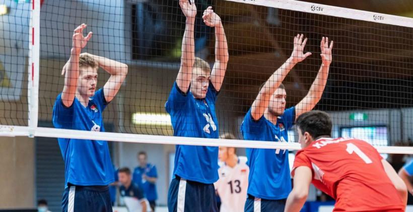 Юниорская сборная Беларуси по волейболу заняла восьмое место на чемпионате Европы