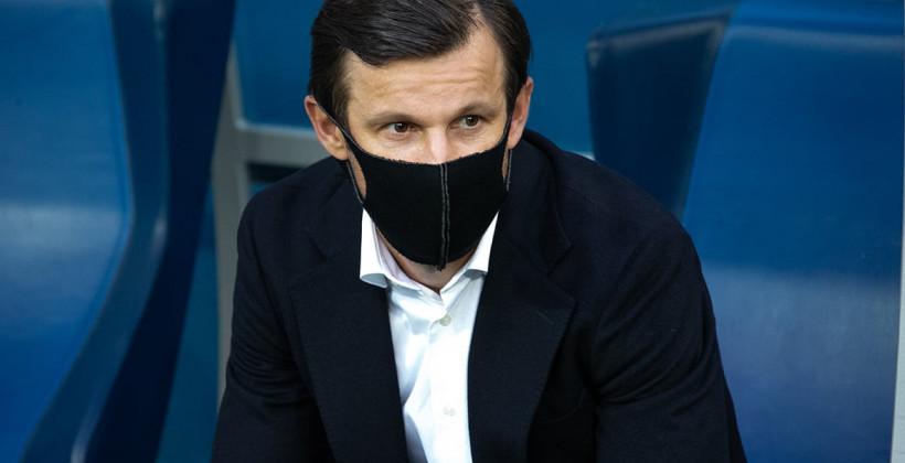 Сергей Семак: «После гола Ковалева игра пошла нервная, потому что цена ошибки была высока»