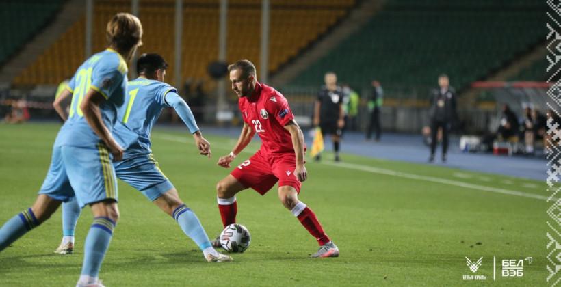 Благодаря голу Лисаковича Беларусь обыграла Казахстан в Лиге наций