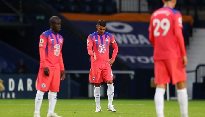 Челси в компенсированное время ушел от поражения в матче с Вест Бромвичем