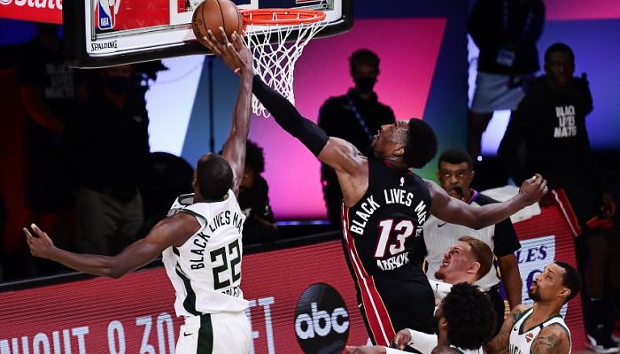 Майами уступил Милуоки, Лейкерс сравнял счет в серии с Хьюстоном в плей-офф НБА