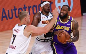 Лос-Анджелес Лейкерс стал первым участником финальной серии НБА