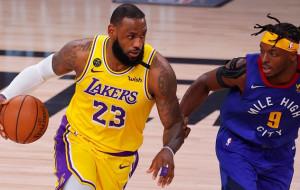 В стартовом матче финальной серии Западной конференции НБА Лейкерс были сильнее Наггетс