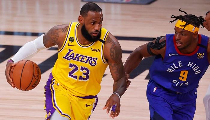 Лейкерс обыграли Денвер и находятся в одном матче от выхода в финал НБА