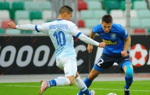 Гол Шикавки стал единственным в матче минского Динамо и Витебска