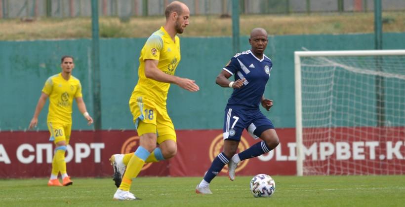 Астана благодаря двум пенальти одолела Ордабасы