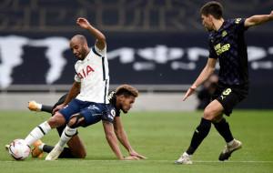 Ньюкасл на седьмой компенсированной минуте матча спасает очко в матче против Тоттенхэма