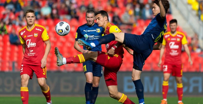 Ростов в меньшинстве добыл волевую победу над Арсеналом