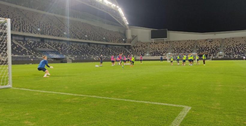 Тренировка брестского Динамо перед матчем Лиги Чемпионов УЕФА (фото)
