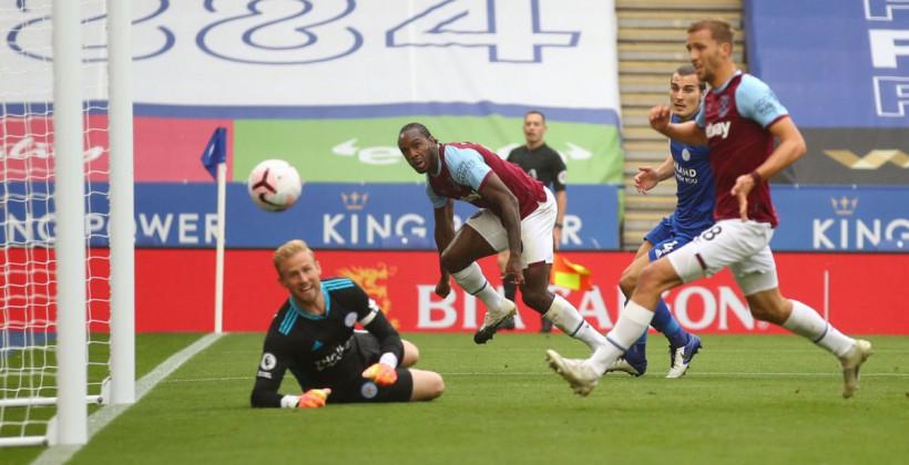 Лестер неожиданно проиграл Вест Хэм Юнайтед на своём поле