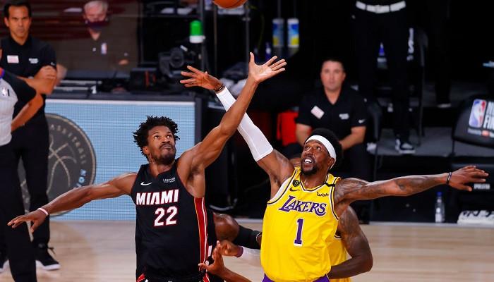 Лейкерс разобрались с Майами в первом матче финала НБА