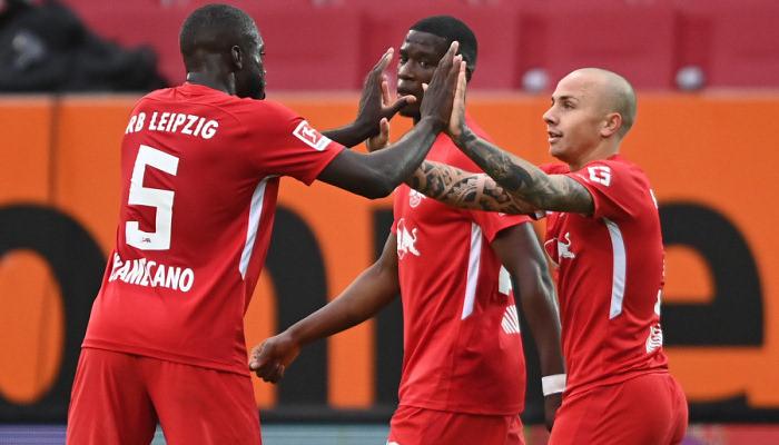 Лейпциг не испытал проблем в гостевом матче против Аугсбурга