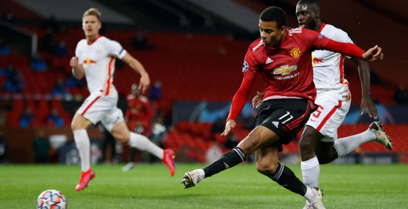 Манчестер Юнайтед дома не оставил шансов РБ Лейпцигу