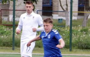 Полузащитник Слуцка Андрей Крень дебютировал в высшей лиге в 16 лет