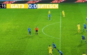 Лучшие моменты поединка БАТЭ — Витебск в стиле FIFA 21 (видео)