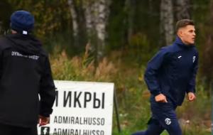 Тренировка брестского Динамо перед матчем со Слуцком (видео)