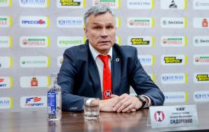 Андрей Сидоренко: «Получил удовольствие, когда стоял на тренерском мостике. Очень рад, что вернулся в хоккей»