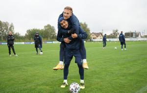 Брестское Динамо провело заключительную тренировку перед дерби с Рухом (видео)