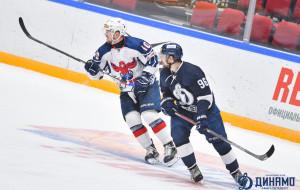 Результативная передача Гавруса не спасла Динамо СПб от поражения в матче против новокузнецкого Металлурга