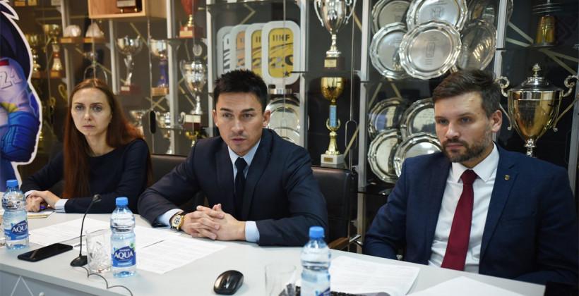 Дмитрий Басков: «Рене Фазель в очередной раз подчеркнул стремление ИИХФ провести чемпионат мира в Минске и Риге»