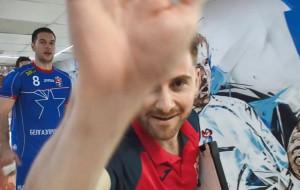 Победная раздевалка Мешков Брест после матча с Пиком в Лиге чемпионов (видео)