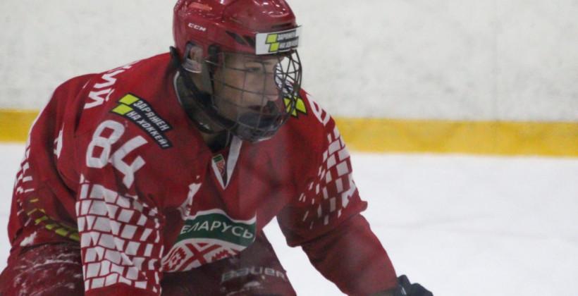 Защитники юниорской сборной Максим Глинский и Никита Жихарев попали в топ-3 самых молодых авторов шайб в истории чемпионатов Беларуси