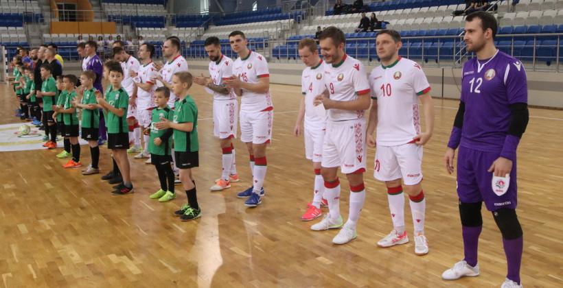 8 декабря сборная Беларуси по мини-футболу стартует в отборе к Евро-2022