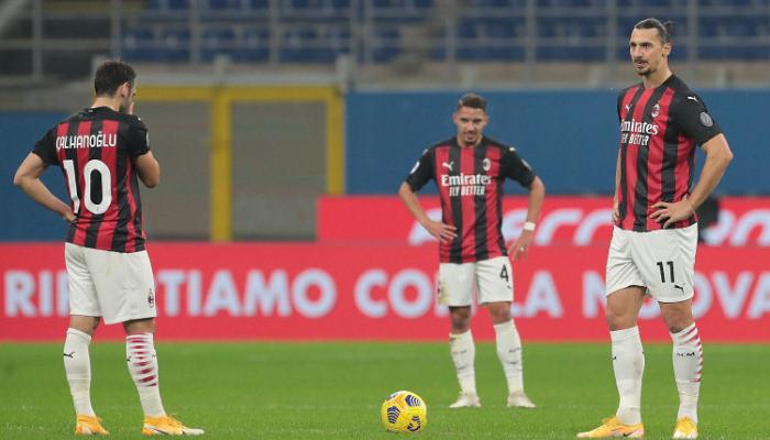 Милан в компенсированное время ушел от поражения в матче с Вероной