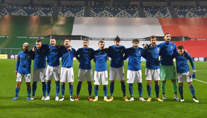Сборная Италии потерпела поражение впервые с сентября 2018 года