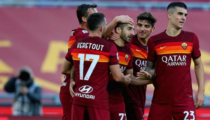 Рома без сопротивления обыграла Парму и поднялась на третью строчку Серии А