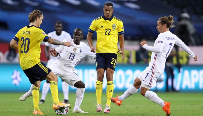 Франция и Португалия одержали победы в матче группы 3 дивизиона А