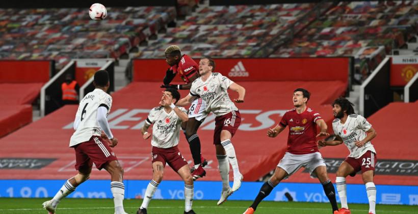 Пенальти Обамеянга решил исход матча Арсенала и Манчестер Юнайтед