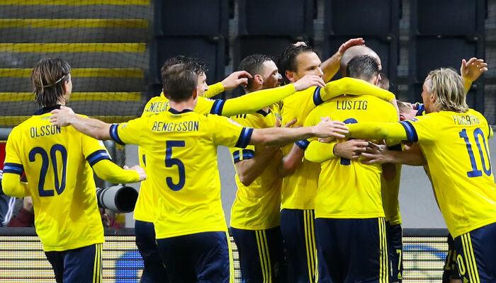 Швеция в домашнем матче Лиги наций обыграла Хорватию