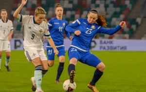 Женская сборная Беларуси уступила Северной Ирландии в квалификации Евро-2022
