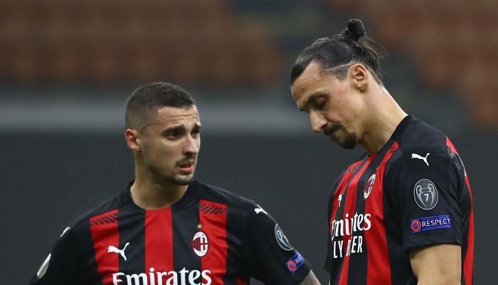 Милан впервые с 8 марта потерпел поражение