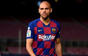 Нападающий Барселоны Мартин Брэйтуэйт может покинуть клуб