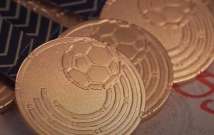 Вручение золотых медалей игрокам и тренерам Шахтера (видео)