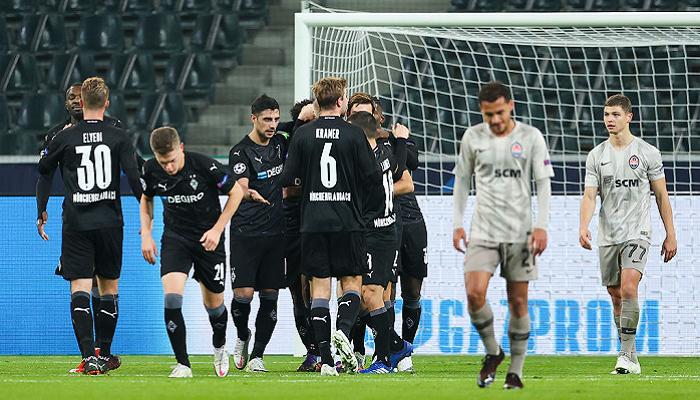 Боруссия Мёнхенгладбах забила четыре безответных мяча Шахтёру
