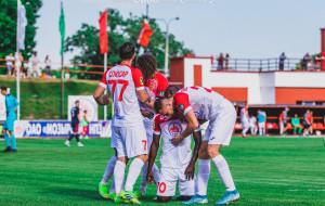 Разгромная победа Славии над Смолевичами (видео)