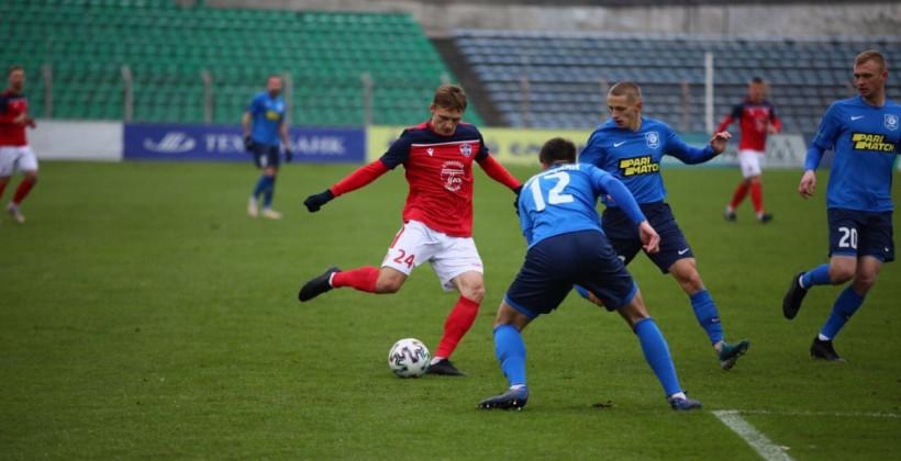 Витебск вырвал ничью в матче с Минском