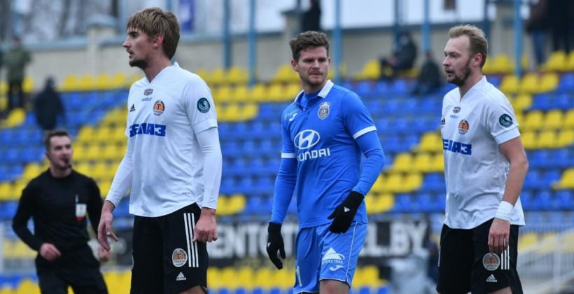 Пигас и Созах — в старте Ислочи на матч против жодинского Торпедо-БелАЗ
