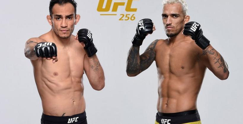 Тони Фергюсон против Чарльза Оливейры на UFC 256