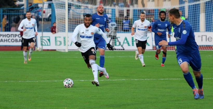 Торпедо-БелАЗ в товарищеском матче оказалось сильнее Слуцка