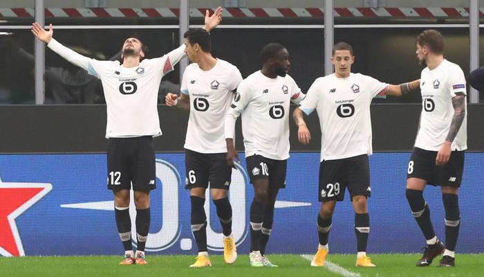 Полузащитник Лилля Языджы признан лучшим игроком недели в Лиге Европы