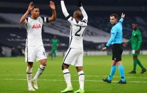 Нападающий Тоттенхэма Винисиус — лучший игрок недели в Лиге Европы