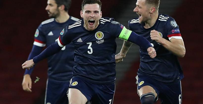 Шотландия и Словакия пробились в финальную часть Евро-2020